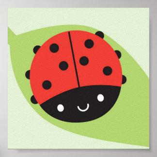 Kawaii Ladybug Posters