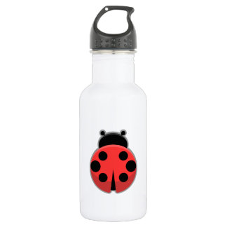 Kawaii Ladybug Stainless Steel Water Bottle