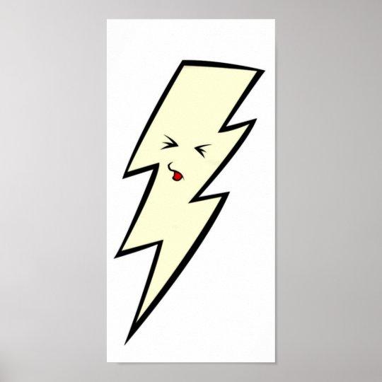 Kawaii Lightening Bolt [POSTER] Poster