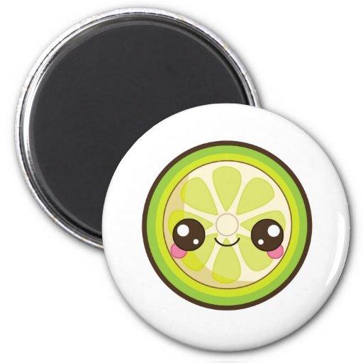 Kawaii Lime Magnet