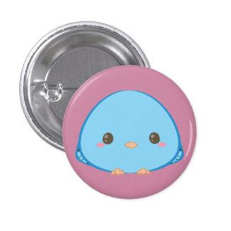 Kawaii Lineolated Parakeet Button