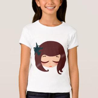 kawaii little girl cartoon T-Shirt