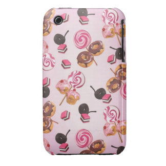 Kawaii lollipops ans cupcake iPhone 3 covers