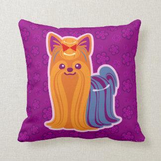 Yorkie Pillows - Decorative & Throw Pillows Zazzle
