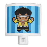 Kawaii Luke Cage Flexing Night Light