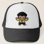 Kawaii Luke Cage Flexing Trucker Hat