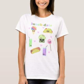 KAWAII LUNCH DATE CUTE PICNIC FOODS T-Shirt