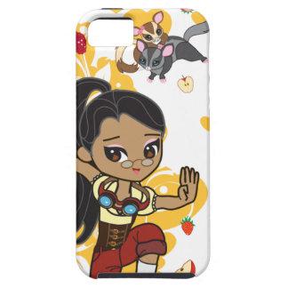 Kawaii Madison el caso del iPhone 5 de Steampunk iPhone 5 Carcasa