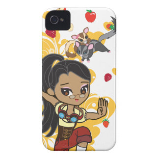 Kawaii Madison Steampunk Chibi 9700/9780 Case-Mate iPhone 4 Funda