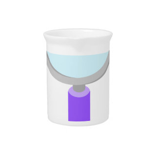 Kawaii magnifying glass beverage pitcher
