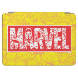 Kawaii Marvel Logo With Super Hero Pattern iPad Pro Cover