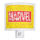 Kawaii Marvel Logo With Super Hero Pattern Night Light