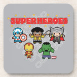 Kawaii Marvel Super Heroes Coaster