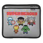 Kawaii Marvel Super Heroes Sleeve For iPads
