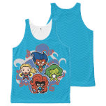 Kawaii Marvel Super Heroines All-Over-Print Tank Top