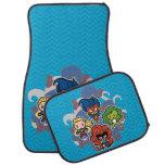 Kawaii Marvel Super Heroines Car Floor Mat