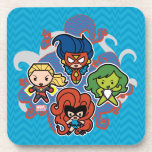 Kawaii Marvel Super Heroines Drink Coaster