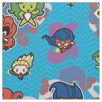 Kawaii Marvel Super Heroines Fabric