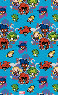 877794859 Kawaii Marvel Super Heroines Kid s Flip Flops
