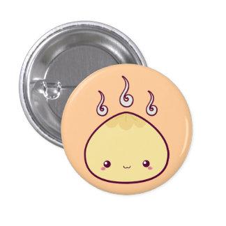 Kawaii Meat Bun Pinback Buttons