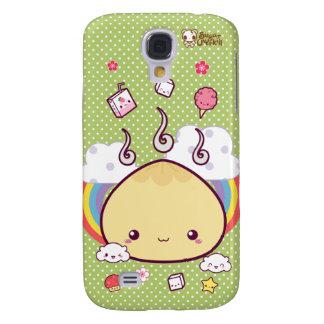 Kawaii Meat Bun Galaxy S4 Covers