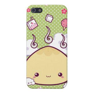 Kawaii Meat Bun iPhone 5 Cases