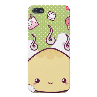 Kawaii Meat Bun iPhone SE/5/5s Cover