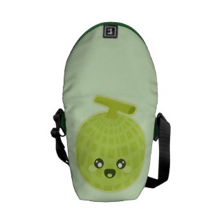 Kawaii Melon Courier Bag