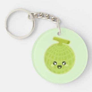 Kawaii Melon Keychain