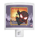 Kawaii Miles Morales City Sunset Night Light