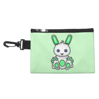 Kawaii Mint Green Bunny Accessory Bag