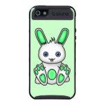 Kawaii Mint Green Bunny iPhone 5 Cover