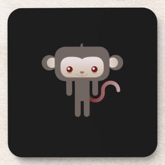 Kawaii monkey coasters