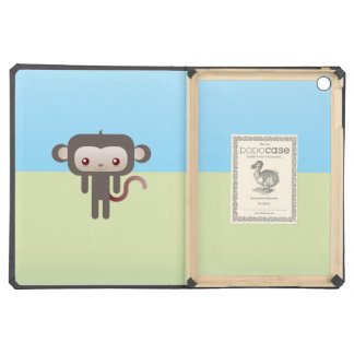 Kawaii monkey iPad air cover