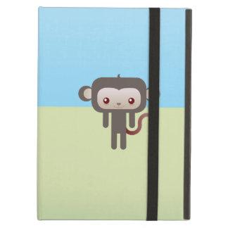 Kawaii monkey iPad case