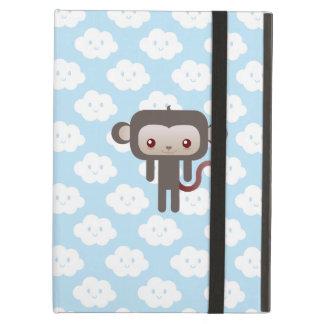 Kawaii monkey iPad cover