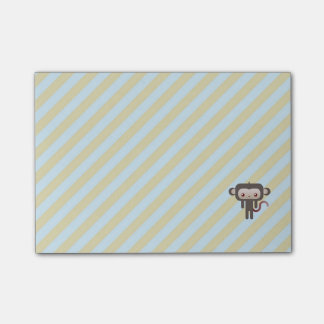 Kawaii monkey post-it® notes