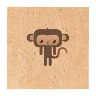 Kawaii monkey coaster