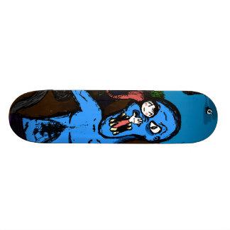 Kawaii Monster Attack Skateboard