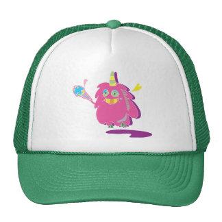 Kawaii Monster Green Trucker Hat