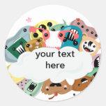 Kawaii Monsters Stickers