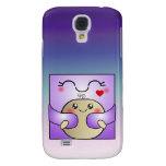 Kawaii Mother and Child Cute Hug Galaxy S4 Cover