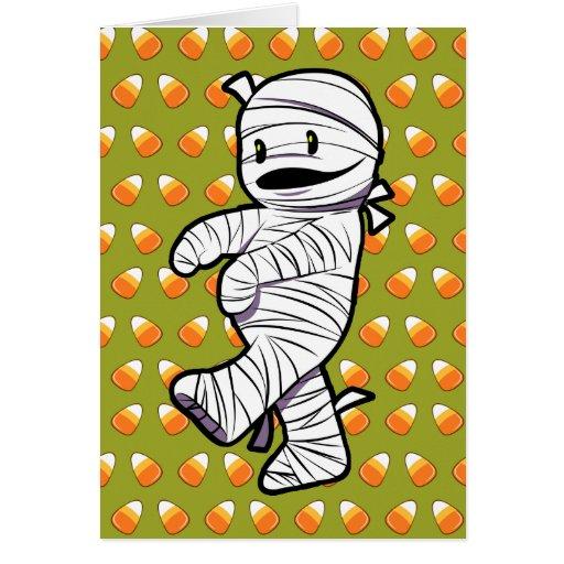Kawaii Mummy Card