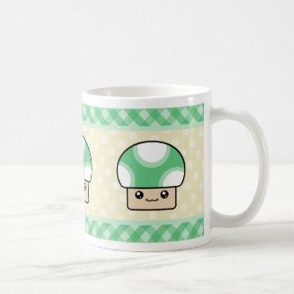 Kawaii Mushroom Coffee Cup Mug