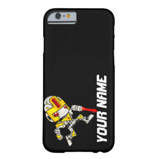Kawaii Name Shooting Robot Barely There iPhone 6 Case
