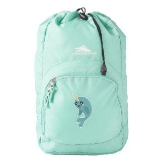 Kawaii narwhal backpack