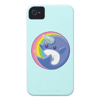 Kawaii Narwhal Case-Mate iPhone 4 Case
