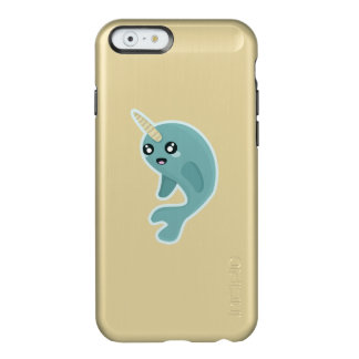 Kawaii Narwhal Incipio Feather Shine iPhone 6 Case