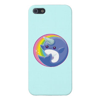 Kawaii Narwhal iPhone SE/5/5s Cover