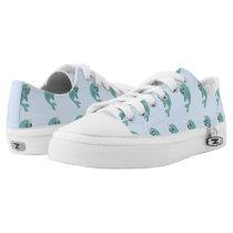 Kawaii narwhal Low-Top sneakers